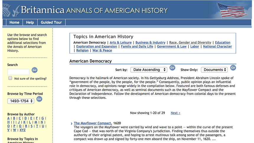 Photo of Annals of American History