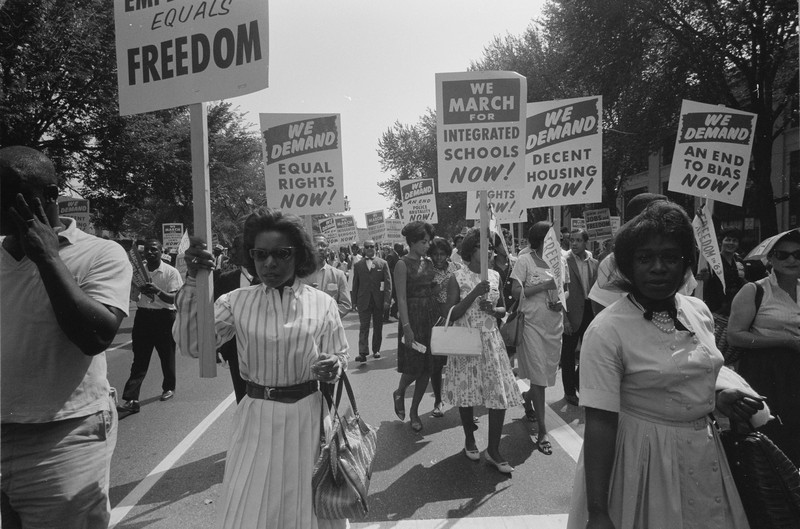 Activity 3, Image 1: Civil rights march on Washington, 1963