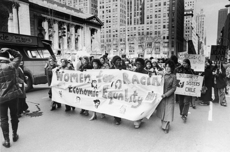 Activity 3, Image 2: Women marching for equality in New York, 1970s