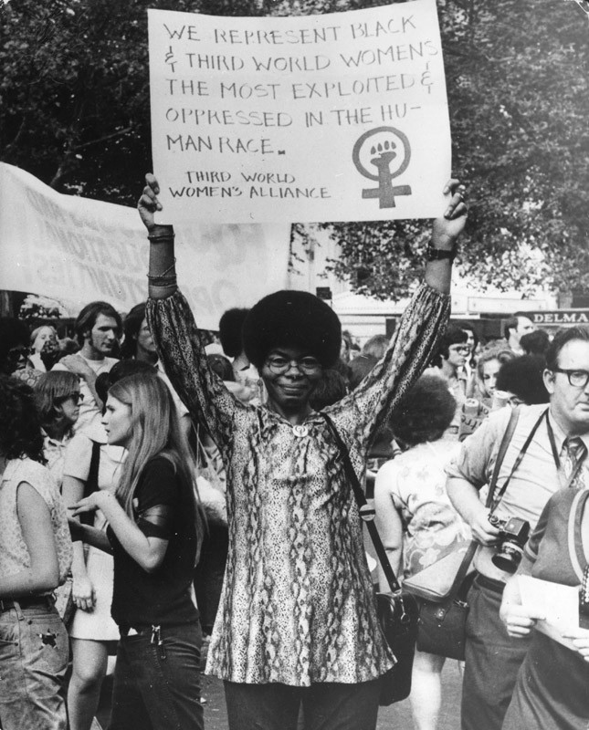 Activity 3, Image 3: Women's liberation demonstration in New York, 1970s
