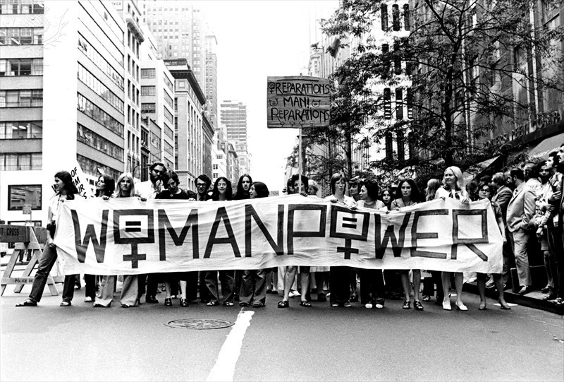 Activity 3, Image 4: New York protest for women's liberation, 1971