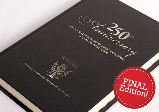 Britannica's 250th Anniversary Collector's Edition