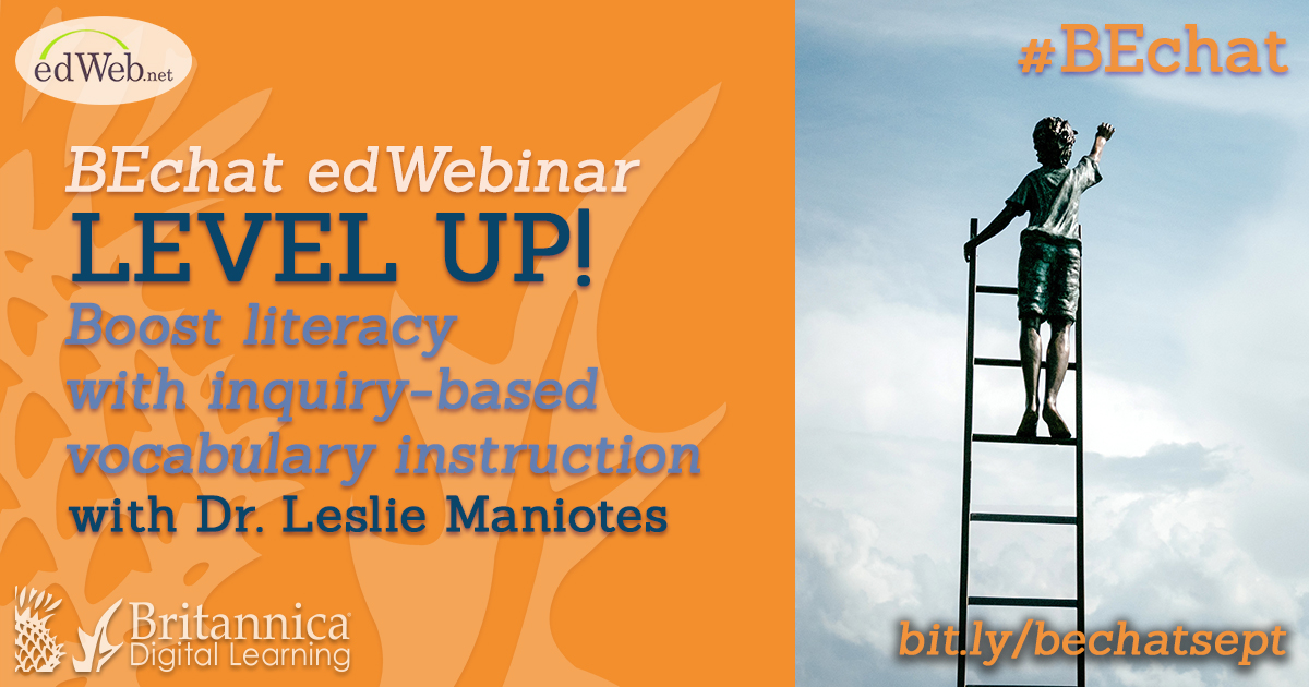 Level Up Boost Literacy With Inquiry Based Vocabulary Instruction