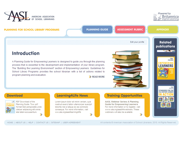 Aasl Planning For School Library Programs blogsfunds